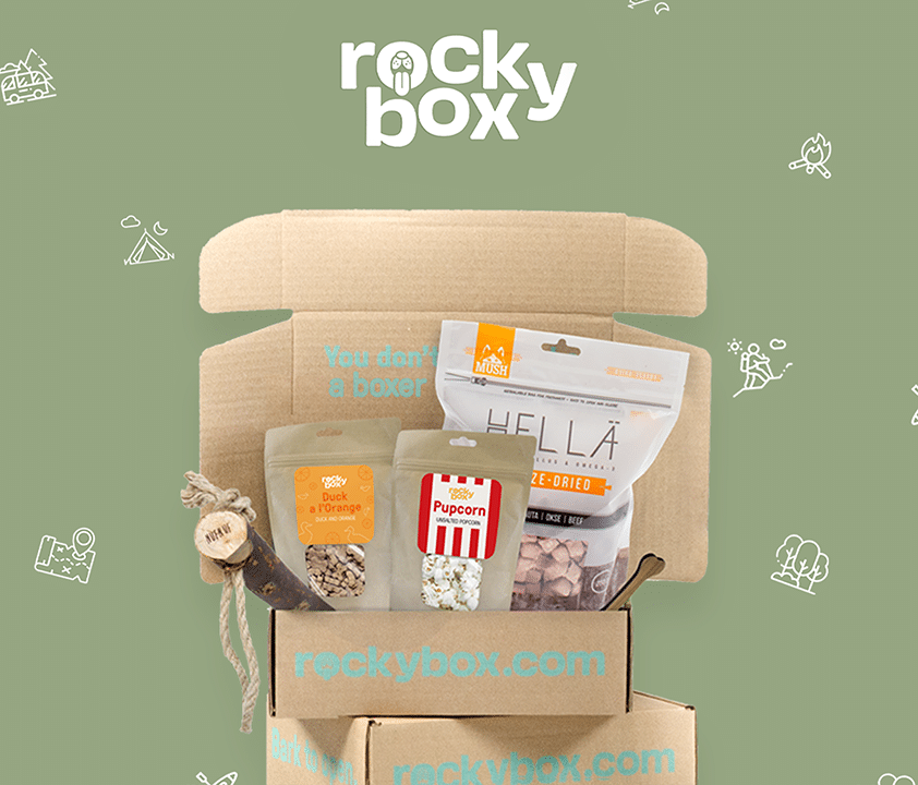 Hundbox rockybox